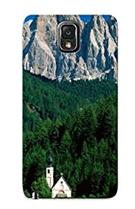 New Arrival Water Case Cover BIrevAa1503GpqGI With Building Design For Galaxy Note 3- Dolomite Mountains Best Gift Choice For Lovers by icecream design