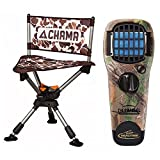 Chama Chair All-Terrain 360 Swivel Hunting/Camping Chair (Camo) w/Thermacell MR-TJ Portable Mosquito Repellerin Realtree Camo
