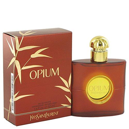 Yvēs Sāint Laūrent Opíum Perfúme For Women 1.6 oz Eau De Toilette Spray (New Packaging) + a FREE Head Over Heels 3.4 oz Shower - Laurent Gel Shower By Opium Saint Yves