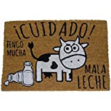 koko doormats Felpudo Coco - Mala Leche, 60x40