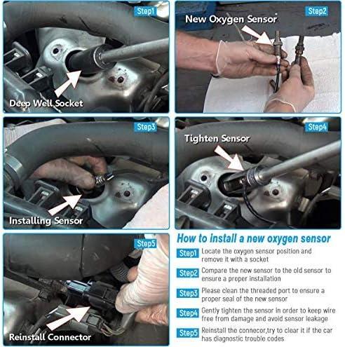 Oxygen Sensor Downstream Toyota Tacoma 1995-2000 Tundra 2000-2004 DENSO 234-4161