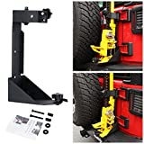 Partol High Lift Jack Mount Off-Road Tailgate Hi-Lift Jack Mounting Bracket Kit 2007-2017 Jeep Wrangler JK