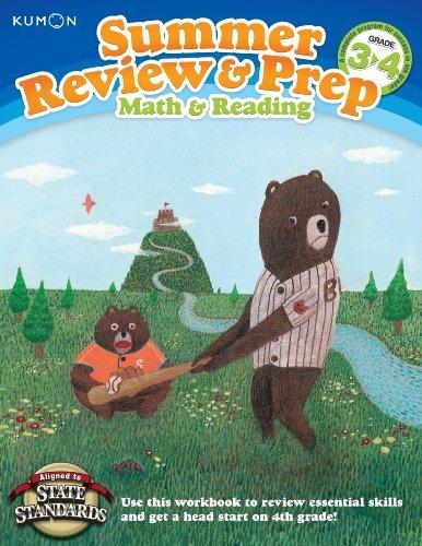 Kumon Summer Review & Prep Workbooks 3-4 by Kumon Publishing (2012-05-05)