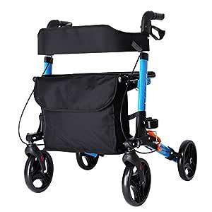 XINZ Andador Para Ancianos De 4 Ruedas | Aluminio ...