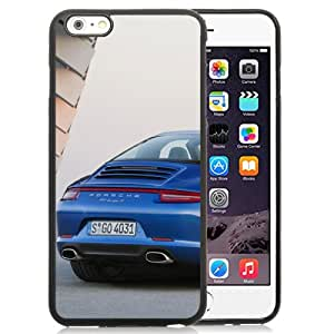 Beautiful Designed Case For iPhone 6 Plus 5.5 Inch Phone Case With Porsche 911 Targa Blue Phone Case Cover
