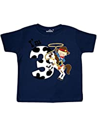 Im Three-cowboy riding horse birthday Toddler T-Shirt