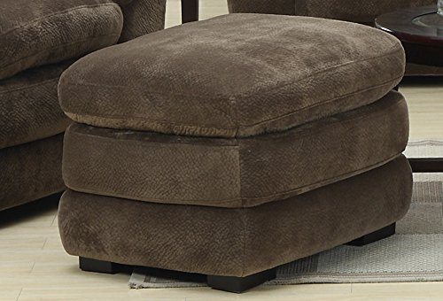 Emerald Home Devon Ottoman Brown/Standard//Casual
