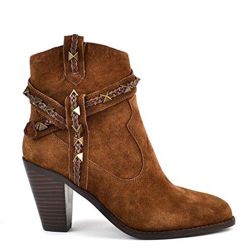 Ash Footwear Ilona Russet Suede Ankle Boot Russet aGkvL5cc