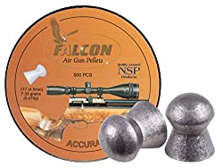 Air Arms Falcon .177 Cal, 4.52mm, 7.33 Grains, Domed, 500ct