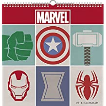 2018 Marvel Spiral Wall Calendar (Day Dream)