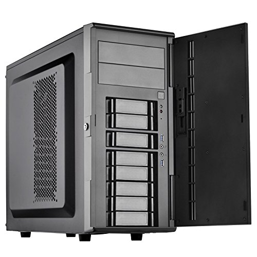 (SilverStone Technology SST-CS380B-USA DIY ATX NAS/Server Storage Computer Case with 8 Front Hot Swap Cases CS380B-USA)