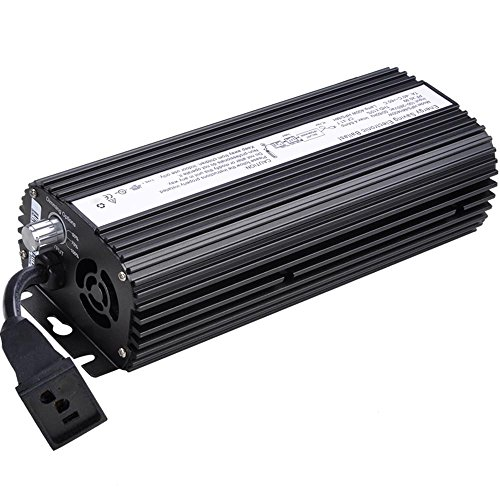 Yescom 600W HPS MH Digital Electronic Dimmable Ballast Grow Light ()