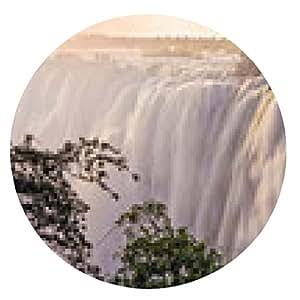 alfombrilla de ratón Victoria Falls, Zambia - ronda - 20cm