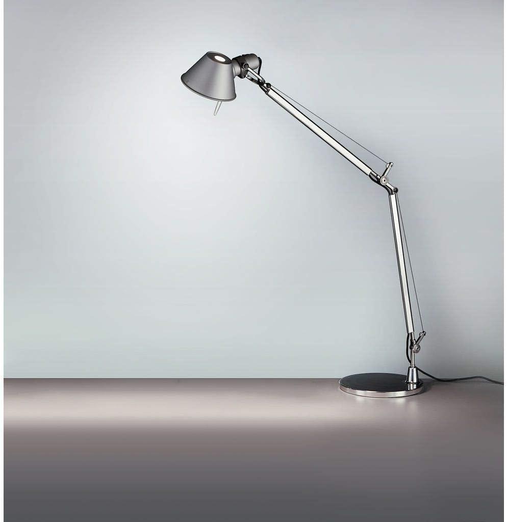 Amazon Com Artemide Tolomeo Table Lamp With Base Classic Aluminum Kitchen Dining