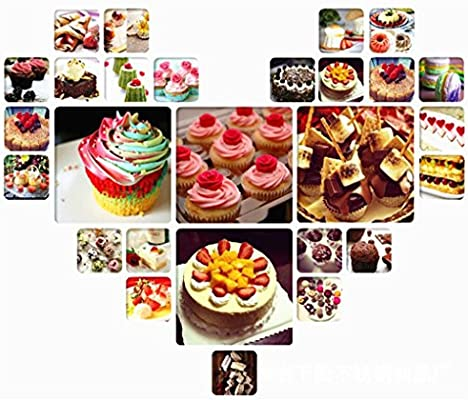Perfect Christmas DIY Tools Cookies and Pastry Cakes Cup Cakes CFtrum 7 Pieces Stainless Steel Icing Piping Nozzles Piping Tips Pastry DIY Baking Tools Decoration Large Icing Nozzles for Baking