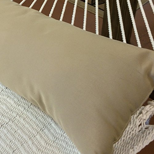 Caribbean Hammocks Double Hammock Pillow, Antique Beige by Caribbean Hammocks (Image #3)