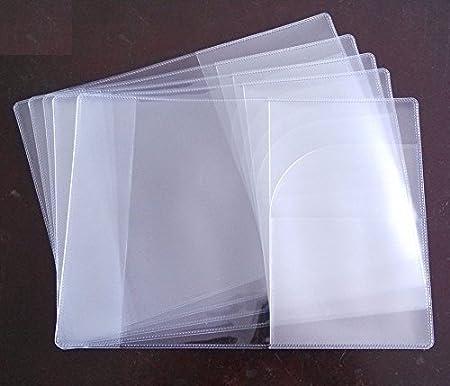 Transparent clear Maxhood Plastic Passport Cover Passport Protector Pack of 5