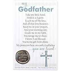 Godfather You Are Loved Pewter Coin with Sentiment Card