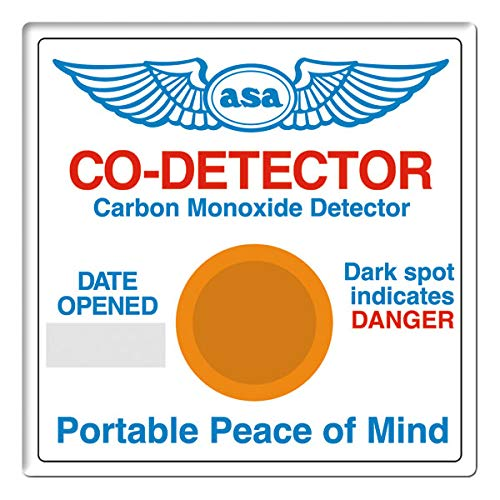 ASAs Carbon Monoxide Detector (New Piper Aircraft)