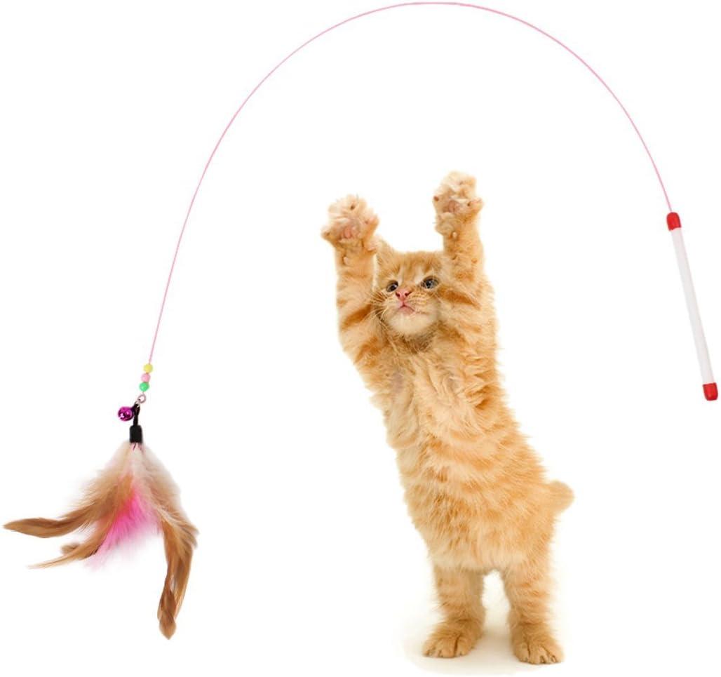 Juguetes para gatos, Legendog 10 piezas Juguete interactivo para ...