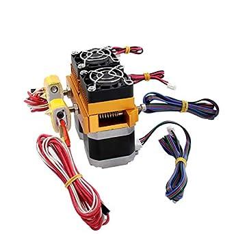 MK8 Extruder Impresora 3D MK8 extrusor hotend 0.4mm boquilla 1.75 ...