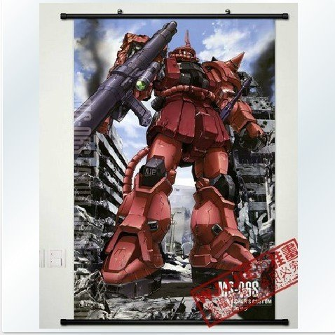 Home Decor Japanese Anime Wall Scroll Gundam Seed 24''*35'' cosplay customize CoSmie 057