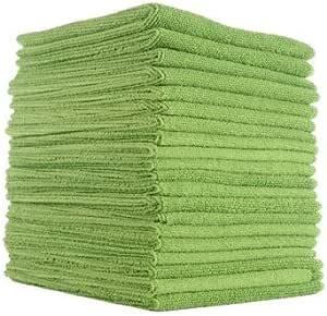 Microfibre Cloth   Microfibre Window Cleaning Cloth, Microfiber Cleaning Cloth 30cm x 40cm, 20 Pack, Car Microfibre Cleaning Cloths
