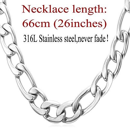 U7 Chunky Necklace Jewelry Stainless