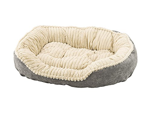 Fashion Plush Pet Beds (Ethical Pets Sleep Zone Carved Plush Pet Bed, 32