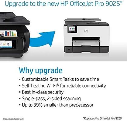 HP OfficeJet Pro 8720 Inyección de Tinta térmica 24 ppm 4800 x ...