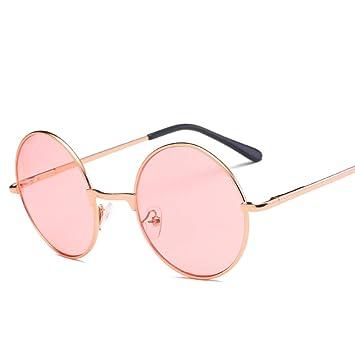 ZHANGTYJ Gafas De Sol Gafas De Sol Redondas para Hombre De ...