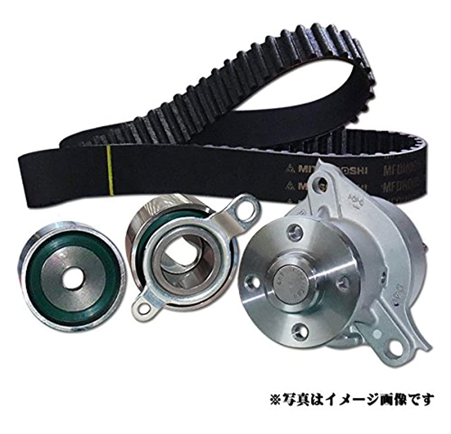 疲労国旗銀河エスティマ T/L MCR30W/MCR40W 1999/12~2006/01 1MZ-FE/DOHC/3000cc タイミングベルト5点セット