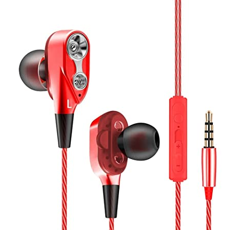 Auriculares OnePlus 6T con microfono Dual Dynamic Drivers in-Ear Estereo Cascos OnePlus 6T Auriculares