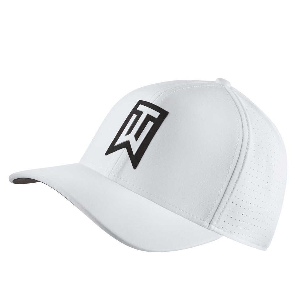 NIKE TW AeroBill Classic 99 Performance Golf Cap 2018 White/Anthracite/White X-Small/Small