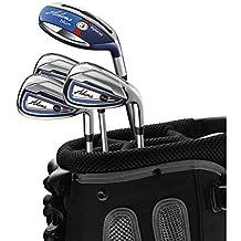 Adams Women's F7530003 Golf Combo Irons Set, Right Hand, Ladies Flex, Graphite Hybrids with Graphite Irons, 45R6-P, Blue