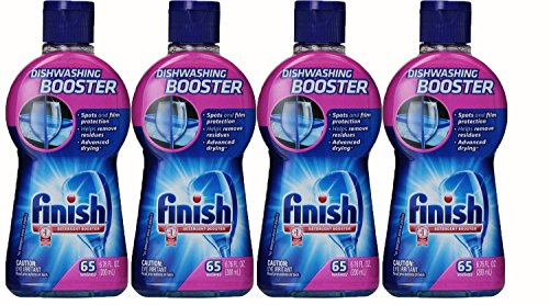 Consummate Dishwasher Detergent Booster, 6.76 Ounce, (Pack of 4)