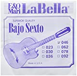 LaBella BX5/6/11 Stainless Steel Acoustic Guitar Strings, Medium