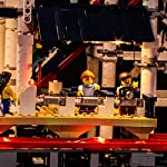 POXL-Set-di-Luci-per-Montagne-Russe-Kit-di-Illuminazione-LED-Luce-LED-Light-Compatibile-con-Lego-10261-Non-includere-Il-Set-Lego