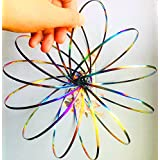 Flow Ring Toy Magic Flowtoys Flow Ring Kinetic Spring 3D Arm Bracelet toroflux Slinky Inductive Magic Ring (Multi Color)