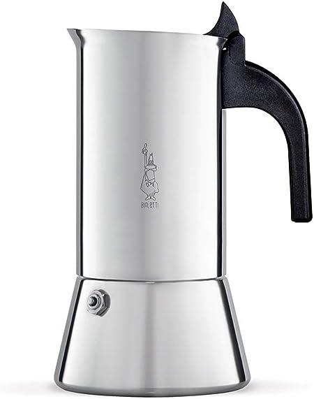 Bialetti Venus Cafetera Italiana Espresso, Acero, Plateado, 15 cm: Amazon.es: Hogar