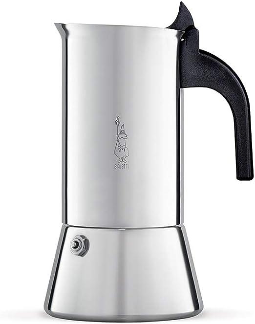 Bialetti Venus Cafetera Italiana Espresso por Inducción, Acero, 6 ...