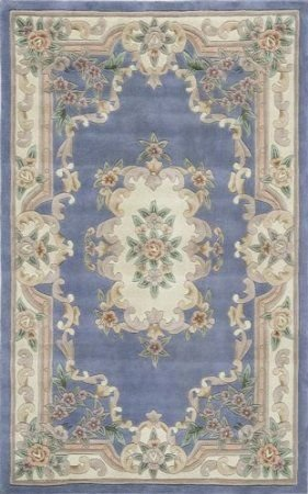 Aubusson Runner Wool (Rugs America European Runner Area Rug 2'3