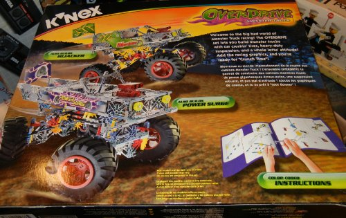 Amazon Knex Overdrive Monster Truck Wflip Up Body Toys Games