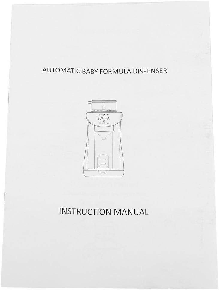 Baby-Milch-Maschine praktische Formel-intelligenter Milchpulvermischer-Multifunktionshersteller f/ür Baby EU Plug