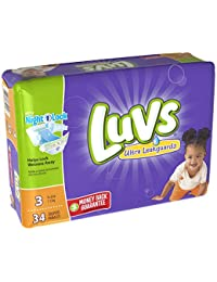 Luvs Ultra Leakguards Diapers - Size 3 - 34 ct BOBEBE Online Baby Store From New York to Miami and Los Angeles