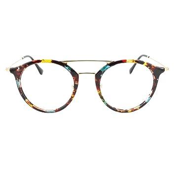 d0cbda1370e EyeBuyExpress Bifocal Prescription Mens Womens Rainbow Tortoiseshell Retro  Style Cat Eye Reading Glasses Anti Glare Quality