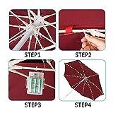 Patio Umbrella Lights Newest Version 8 Strings