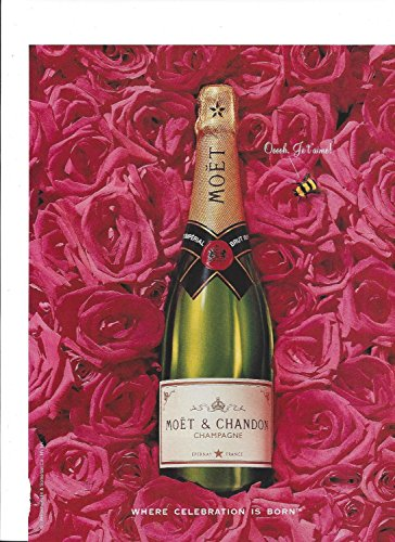 Moet Chandon Champagne (PRINT AD For 1996 Moet & Chandon Champagne Where Celebration Is BornPRINT AD)