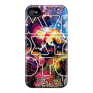 EricHowe Iphone 4/4s High Quality Hard Phone Covers Provide Private Custom Colorful Coldplay Band Skin [wdA12198kwsy]