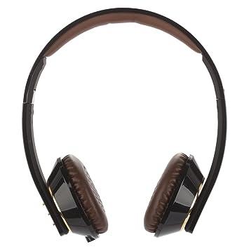 NGS Artica Pro - Auriculares de diadema abiertos Bluetooth (con micrófono, control remoto integrado), negro: Amazon.es: Electrónica